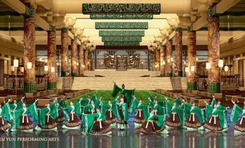 Shen Yun-Green men